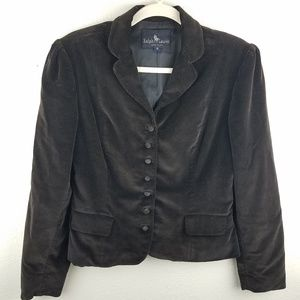 VTG RALPH LAUREN Suede Button Up Blazer Jacket